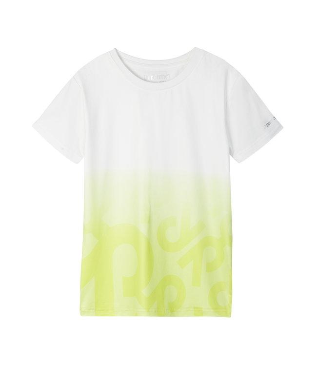 Reima Kinder T-Shirt Vauhdikas Lemon yellow