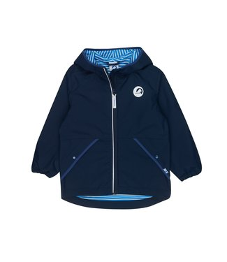 Finkid PUUSKIAINEN Kinder Outdoorjacke navy/denim