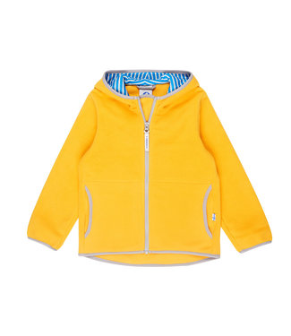 Finkid PAUKKU Kinder Fleecejacke yellow/storm