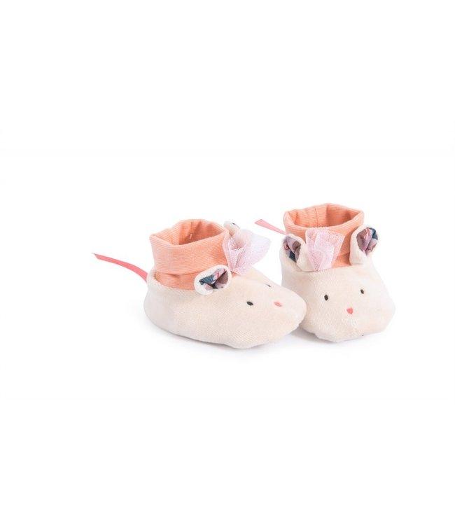Moulin Roty Babyschühchen Maus