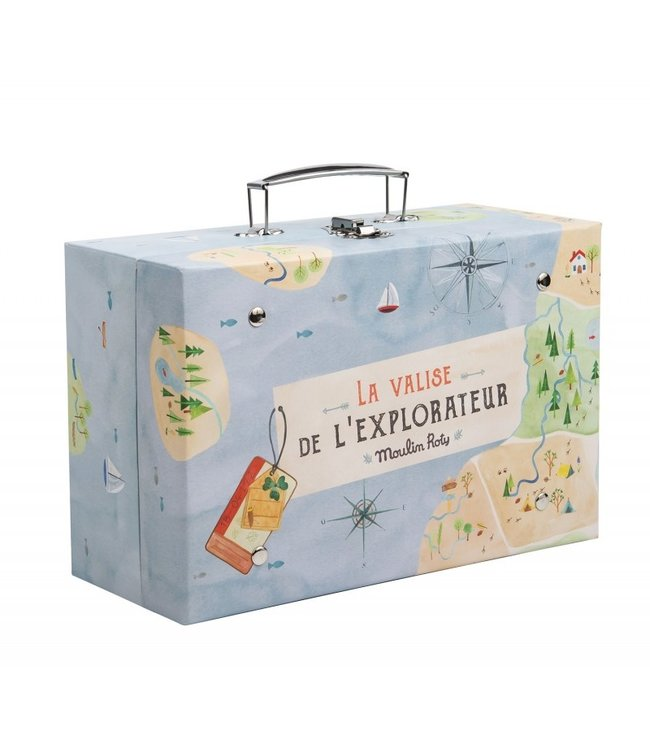 Moulin Roty Kinder Entdecker Koffer