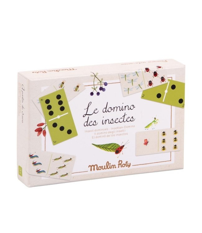 Moulin Roty Insekten Domino