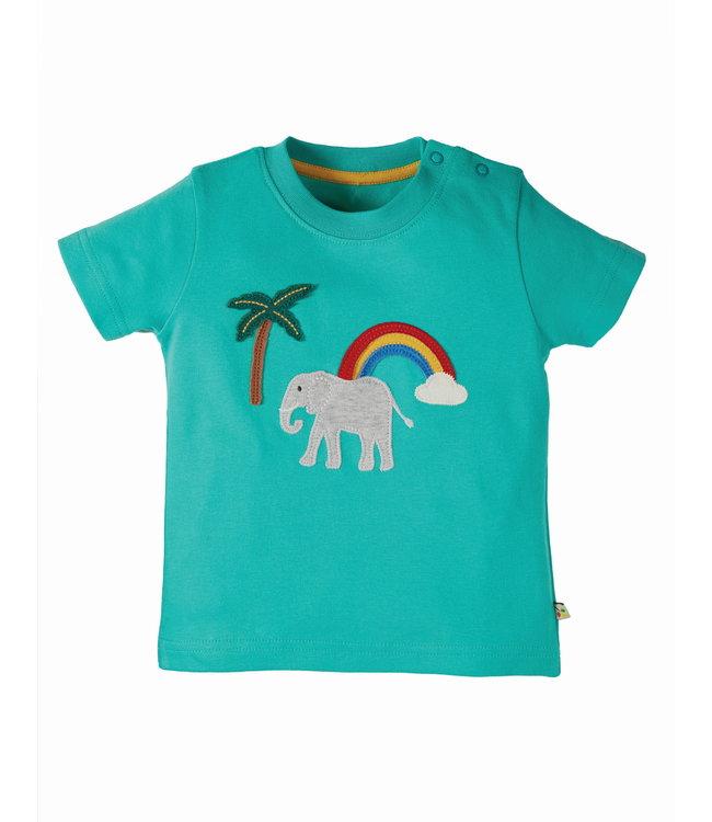 Frugi Kleinkinder T-Shirt Elefant