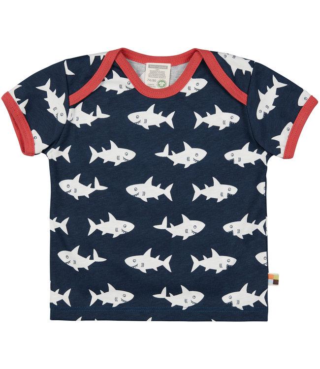 Loud and Proud T-Shirt Druck Hai ultramarine