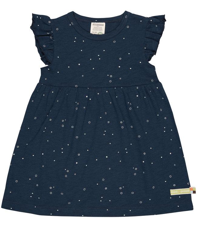 Loud and Proud Kleid mit Druck ultramarine