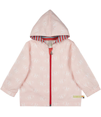Loud and Proud Kinder Outdoorjacke Rosé