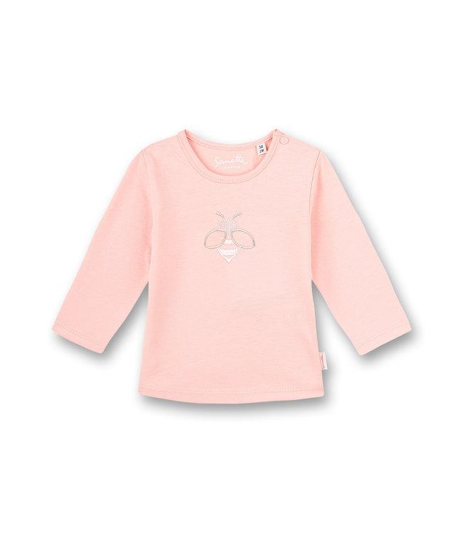 Sanetta Fiftyseven Baby Mädchen-Shirt langarm Honey Bee