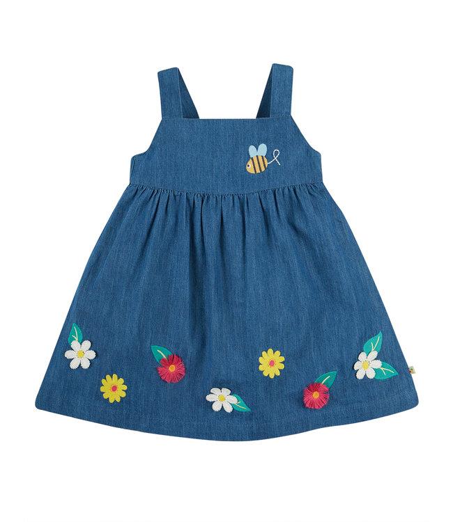 Frugi Kleinkinder Kleid Biene
