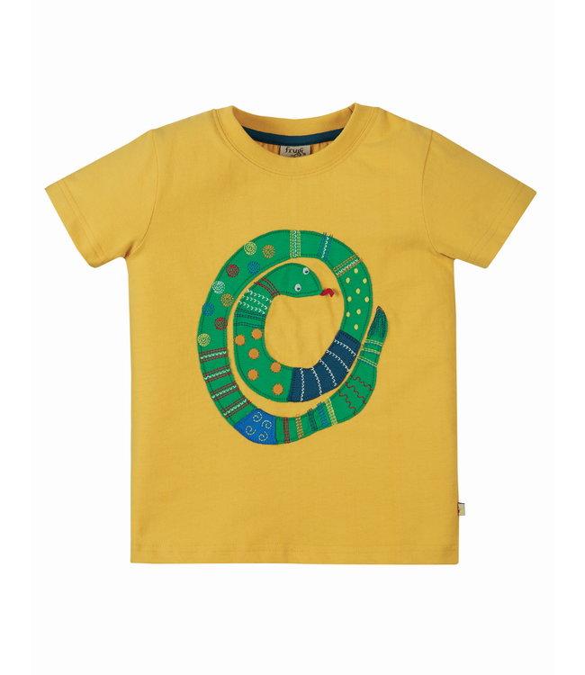Frugi Jungen T-Shirt Snake