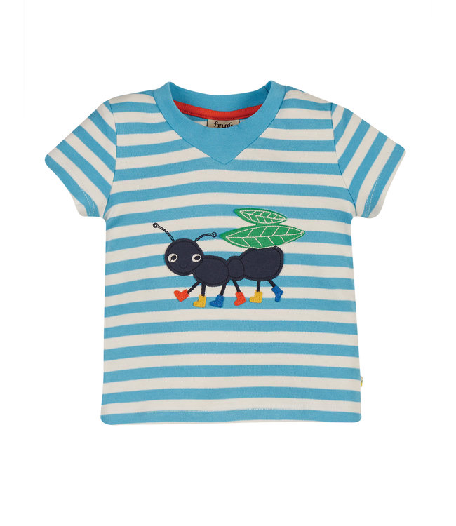 Frugi Kleinkinder T-Shirt Ameise