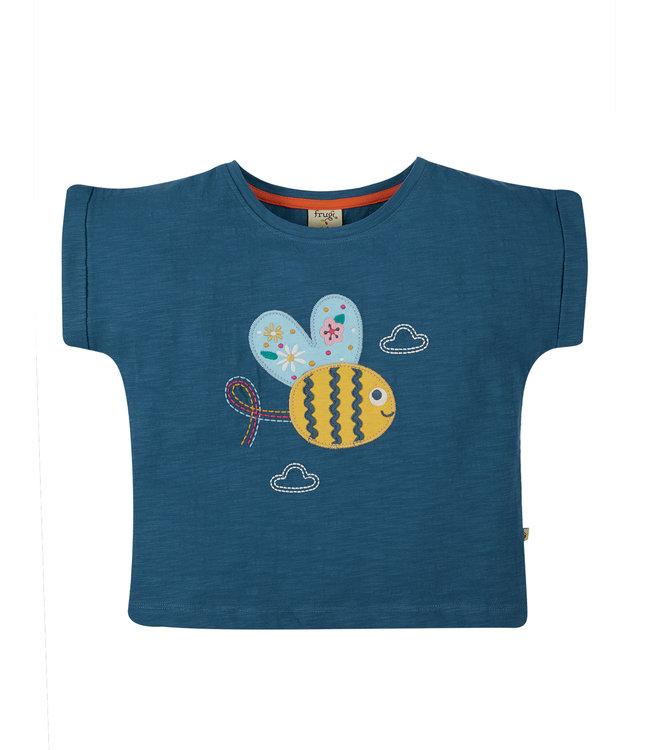 Frugi Mädchen T-Shirt Sophie Biene