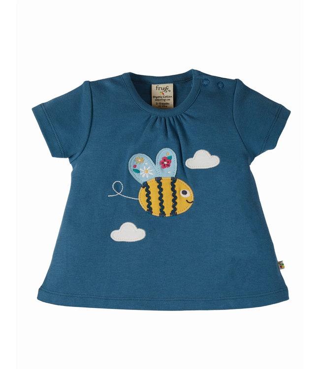 Frugi Kleinkinder T-Shirt Amber Biene