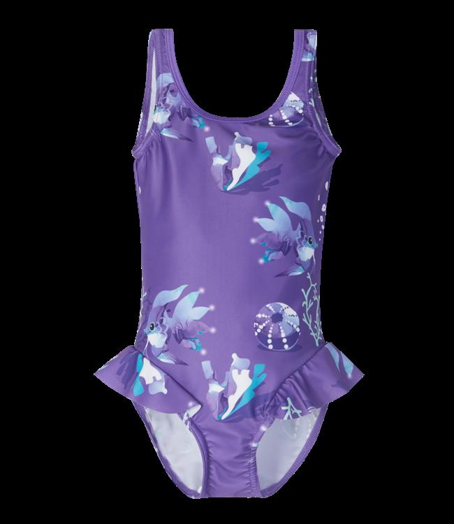 Reima Mädchen Badeanzug Korfu Vivid violet