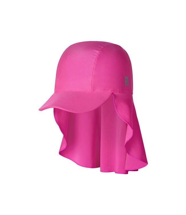 Reima Kinder Sonnenschutz Hut Mustekala fuchsia pink