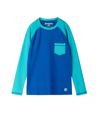 Reima Jungen Sonnenschutz Shirt Kroolaus blue