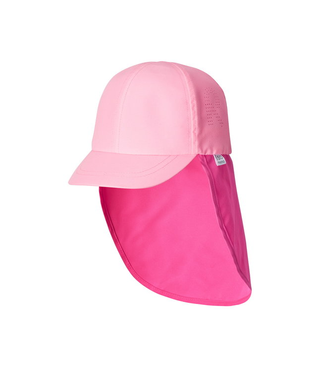 Reima Kinder Sonnenschutz Hut Vesikirppu neon pink