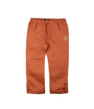 Pure Pure Kinder Leinen Hose dusty orange
