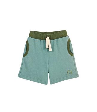 Finkid Shorts Ankka trellis/bronze green