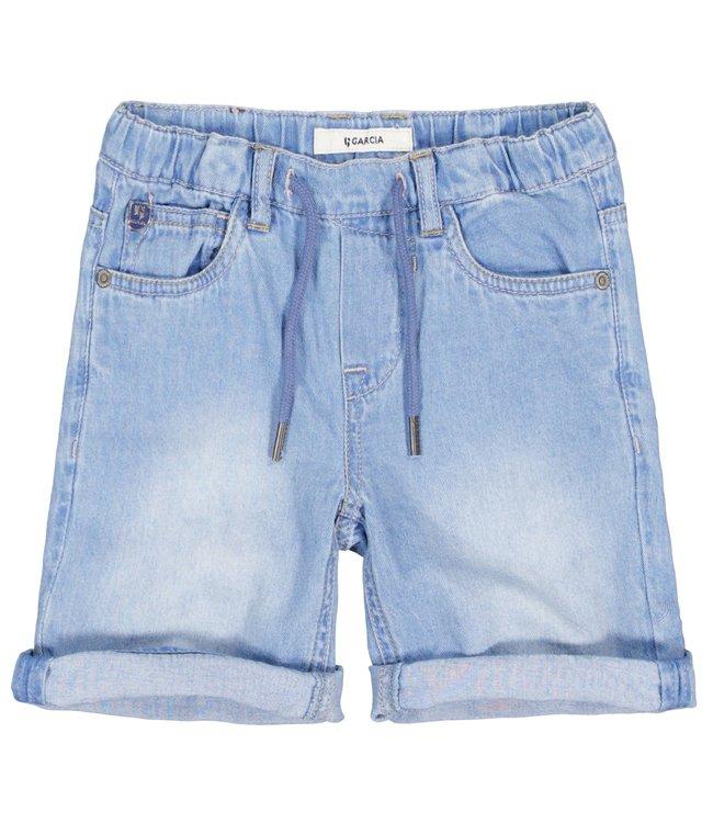 Garcia Jungen Jeans Shorts blau