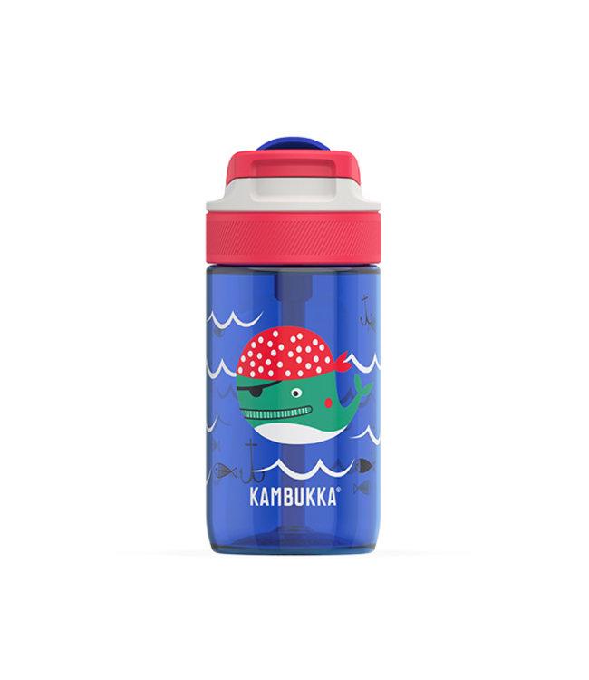 Kambukka Kinder Trinkflasche Lagoon 400 ML Captain Whale