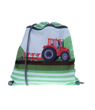Funki Kindergarten-Turnsack Red Traktor