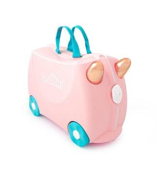 Trunki Kinderkoffer Flossi der Flamingo