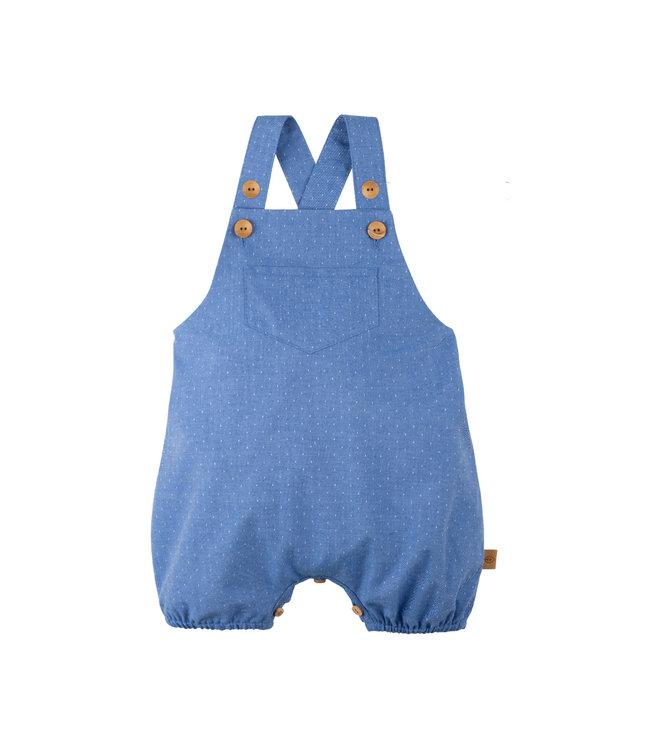 Pure Pure Baby Latzhose nautic blue