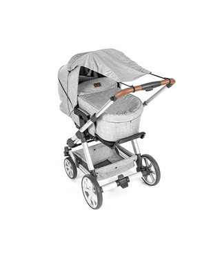 Reer ShineSafe+ Kinderwagen-Sonnensegel grau