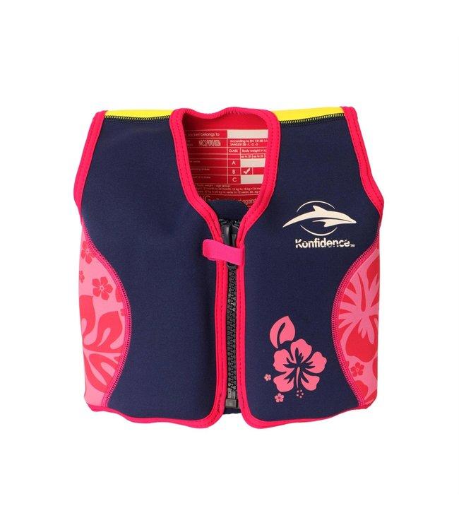 Konfidence Kinder-Schwimmweste Hibiscus 18 - 36 Monate
