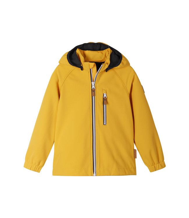 Reima Kinder Softshell Jacke Vantti Orange yellow