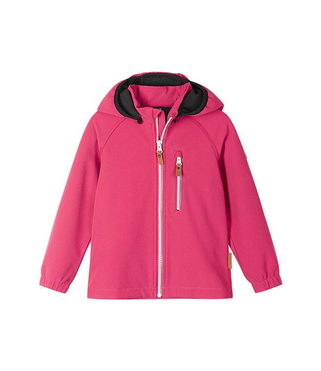 Reima Kinder Softshell Jacke Vantti Azalea pink