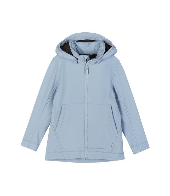 Reima Mädchen Softshell Jacke Espoo Foggy blue