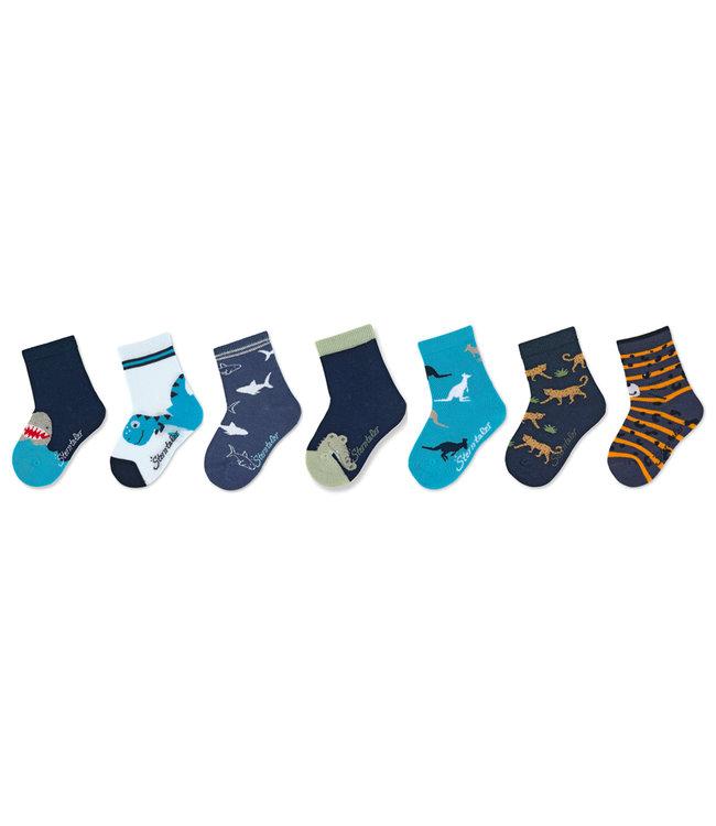 Sterntaler Jungen Socken 7er-Box