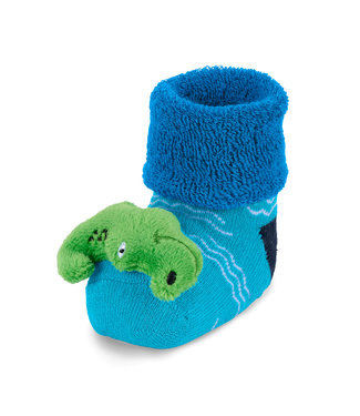 Sterntaler Baby Rasselsöckchen Krokodil