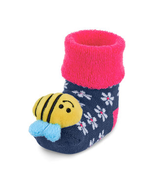 Sterntaler Baby Rasselsöckchen Biene