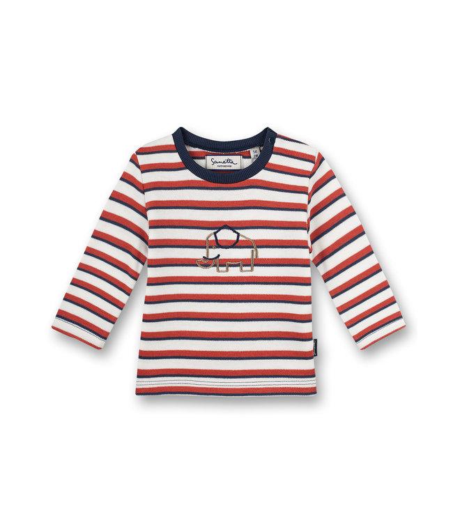 Sanetta Fiftyseven Baby Jungen Shirt Family Elephant