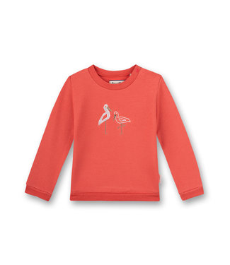 Sanetta Fiftyseven Baby Mädchen Sweatshirt Family Stork