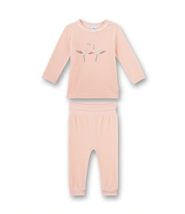 Sanetta Mädchen Schlafanzug langarm Retro Romance