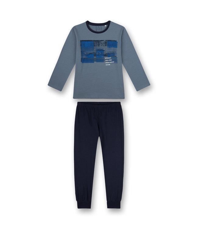 Sanetta Jungen Schlafanzug langarm Racing Academy