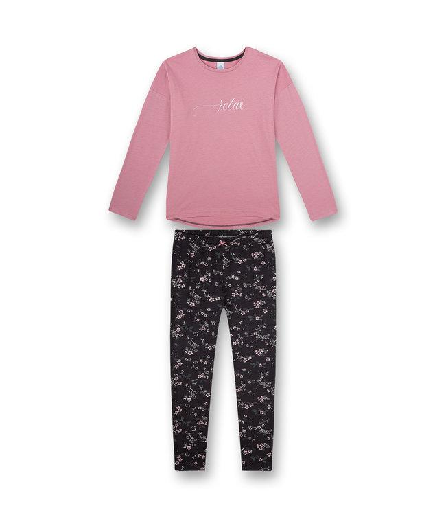 Sanetta Mädchen Schlafanzug langarm Mystic Moment Rosa