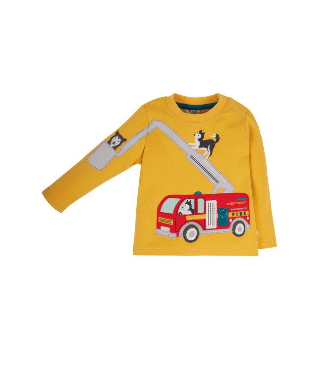 Frugi Kleinkinder Shirt Doug Feuerwehr