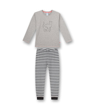 Sanetta Mädchen Schlafanzug langarm Fancy Cat
