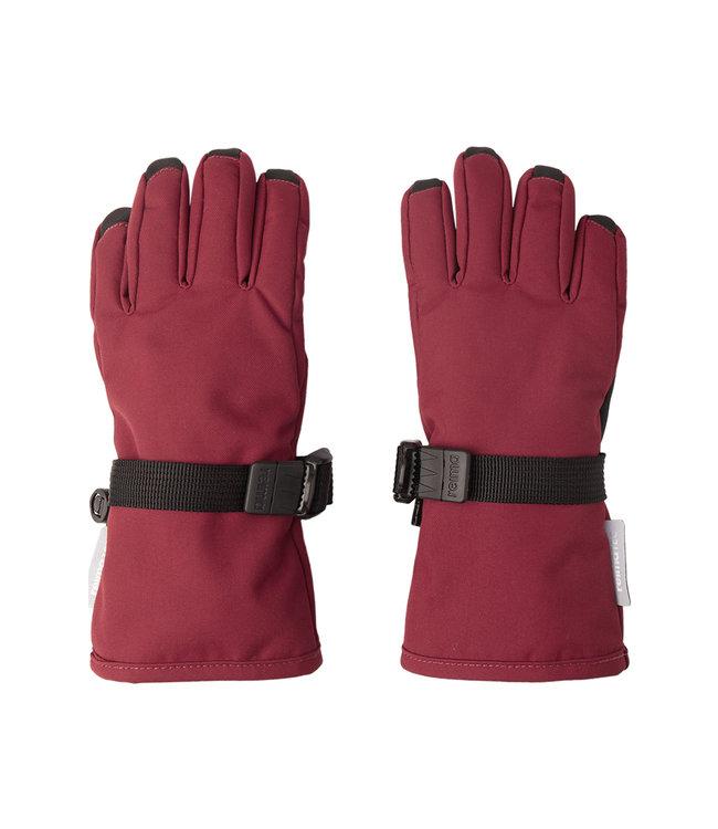 Reima tec Kinder Winter Handschuhe Tartu Jam red