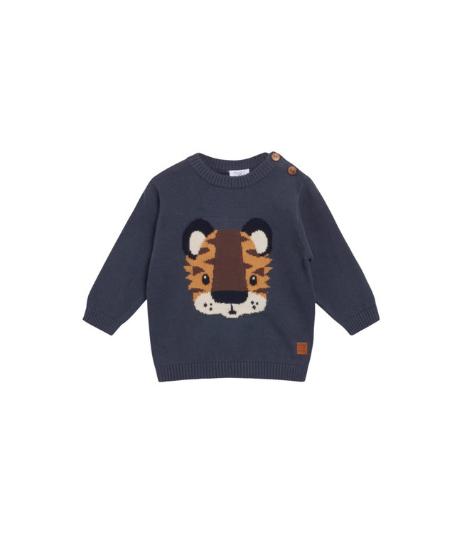 Hust & Claire Baby Pullover Pilou Löwe