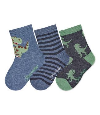 Sterntaler Socken 3er Pack Dino