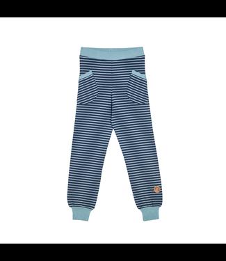 Finkid HUVI Kinder Leggings navy/smoke blue