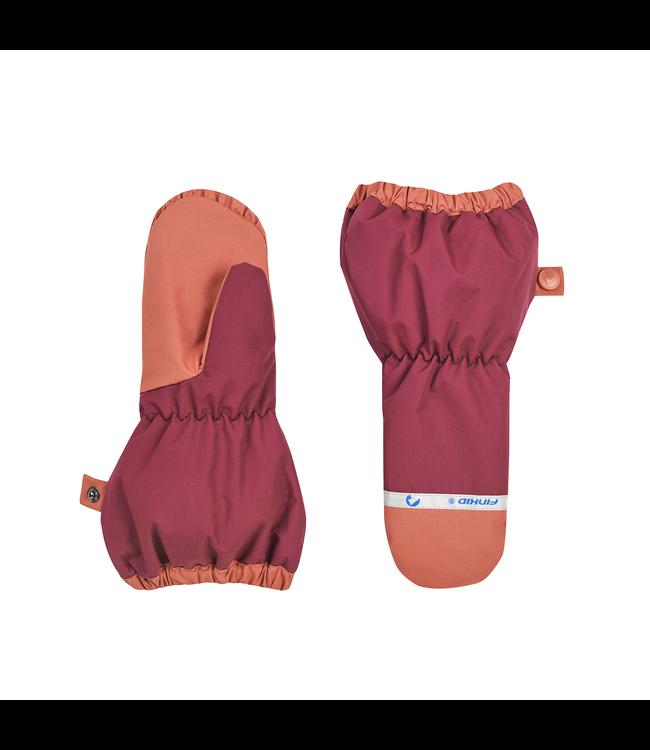 Finkid Handschuhe Pakkanen beet red/chili
