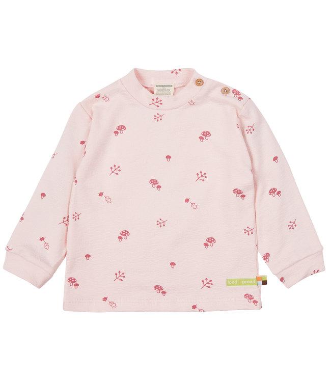 Loud and Proud Shirt Strukturjersey Rosé