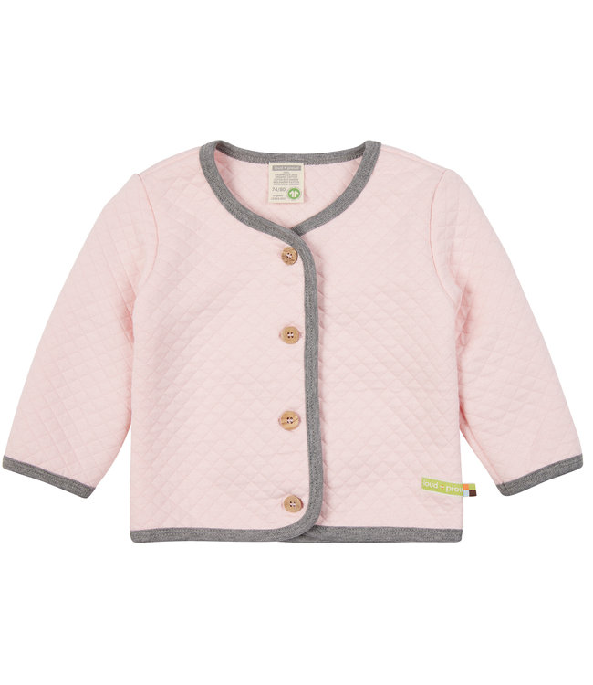 Loud and Proud Jacke Padded Knit Rosé