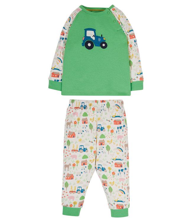 Frugi Kinder Pyjama kleiner Bauernhof